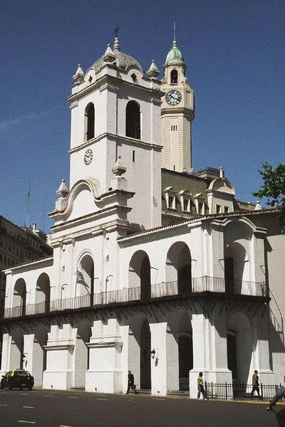 Здание Кабильдо в Буэнос-Айресе