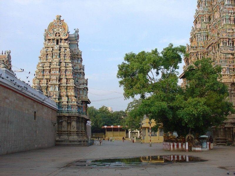 Храм Минакши Сундарешвара