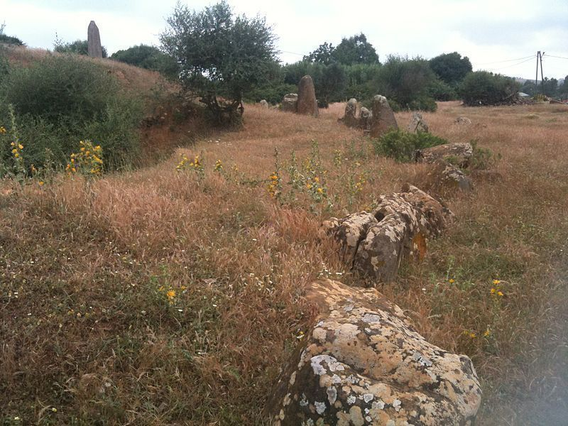 Круг камней в М'Сура
