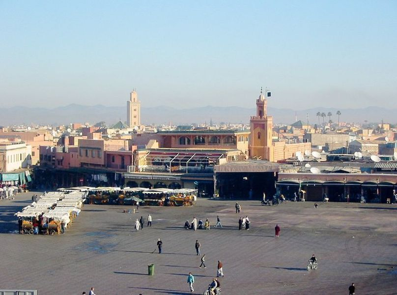 Площадь Джемаа эль-Фна