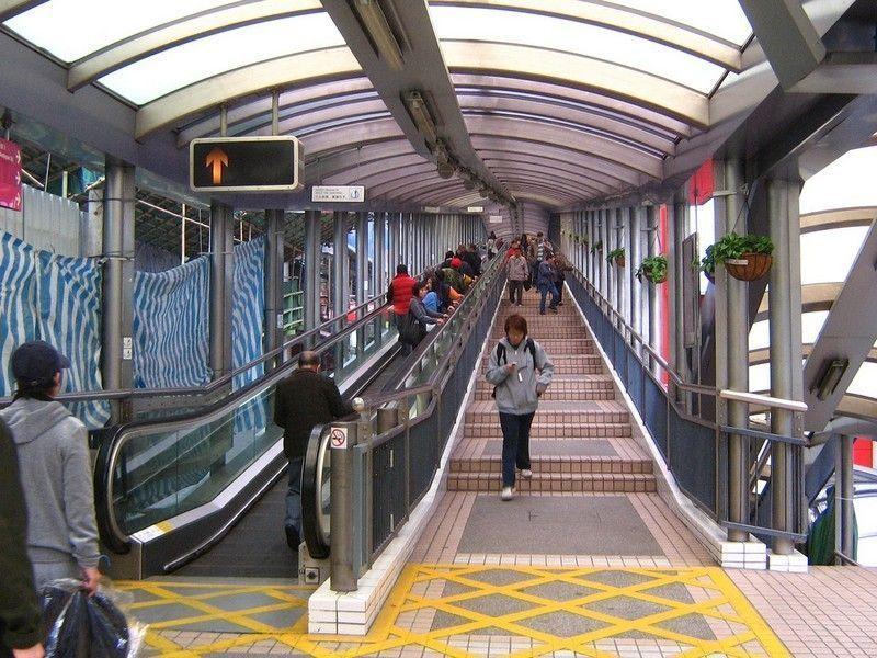 Эскалатор, Гонконг