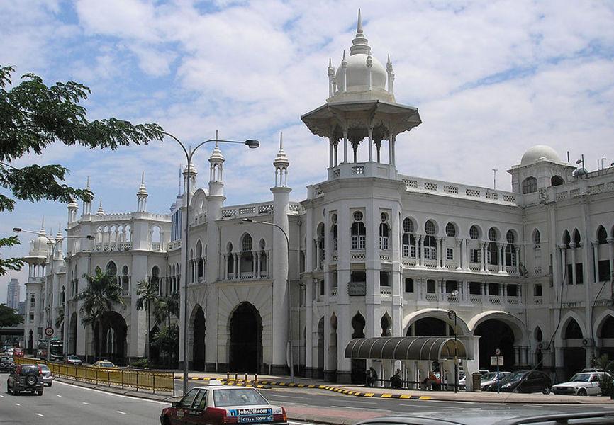 Железнодорожный вокзал Куала-Лумпура