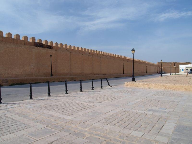 Стены медины, Кайруан