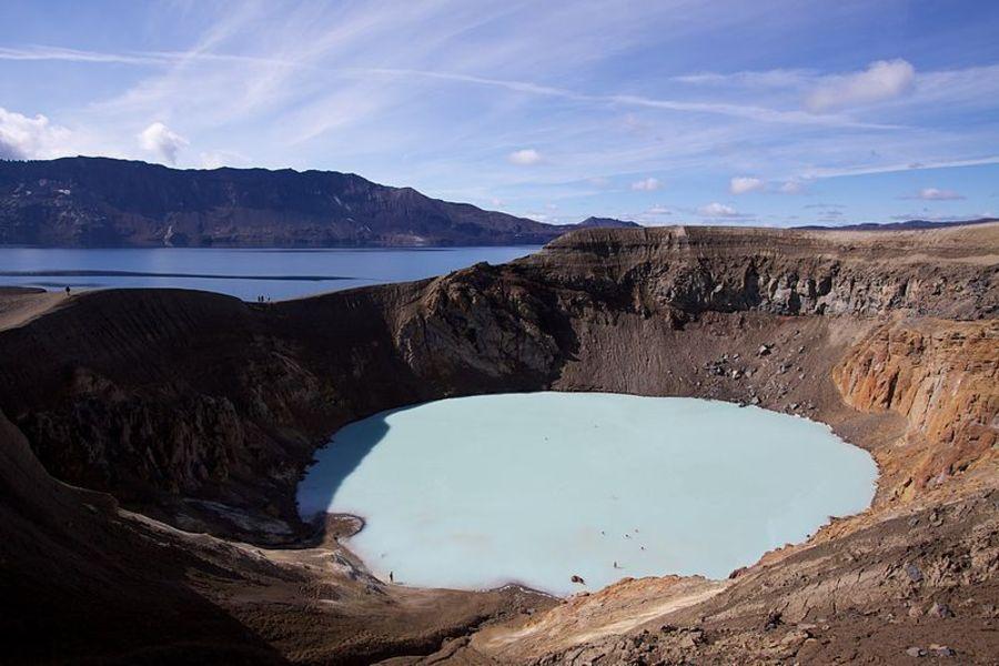 Вулканическая гора Аскья