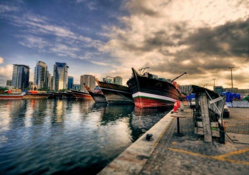 Дубайская бухта