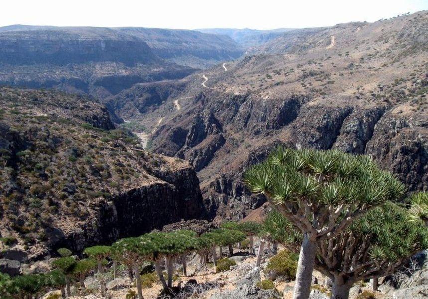 Каньон Вади-Дирхур