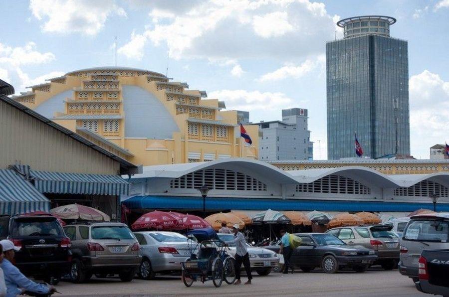 Главный рынок, Пномпень