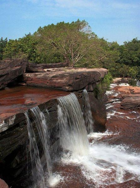 Водопады Кбаль Чхай