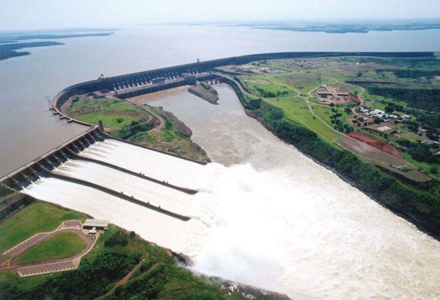 Водохранилище Итаипу