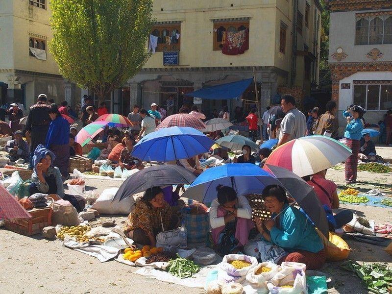 Рынок, Тхимпху