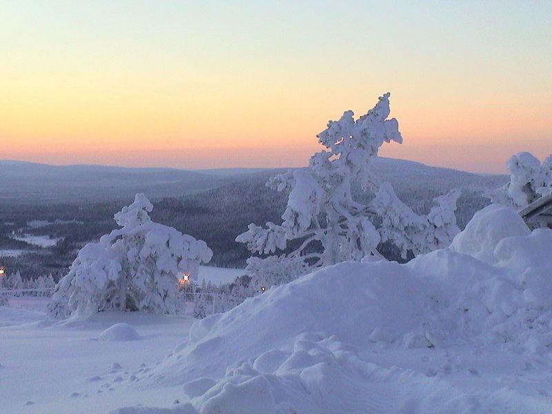 Февральская Финляндия. Рованиеми, Хельсинки.