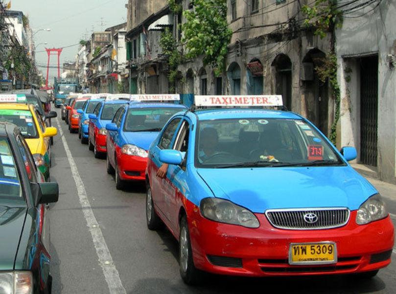 Безопасность в Таиланде. Такси.