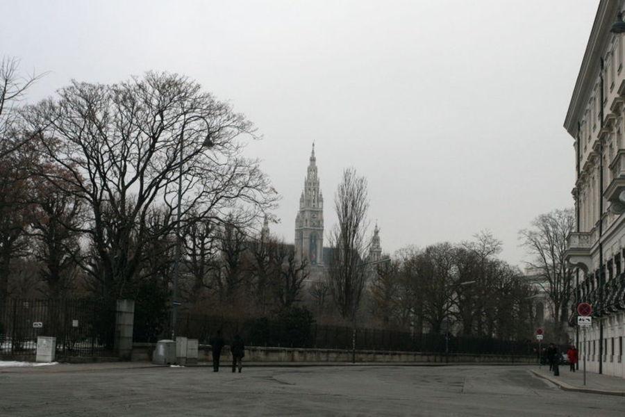 Поездка в Вену. Прилет и заселение