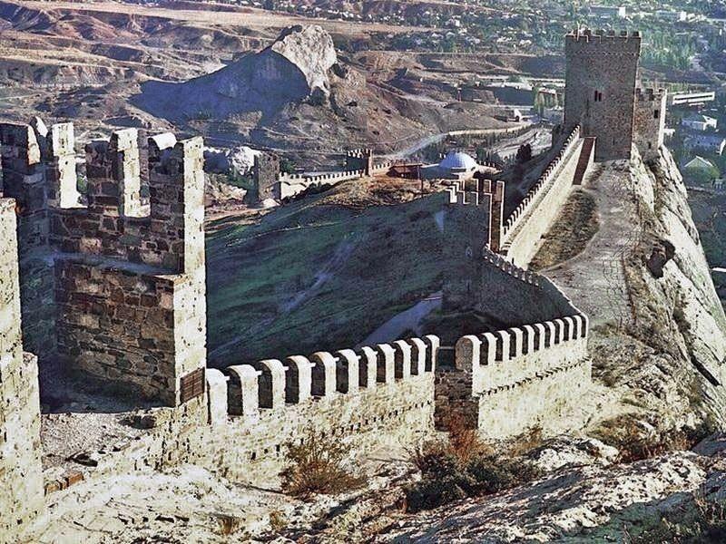 Генуэсская крепость. Испытание жаждой.