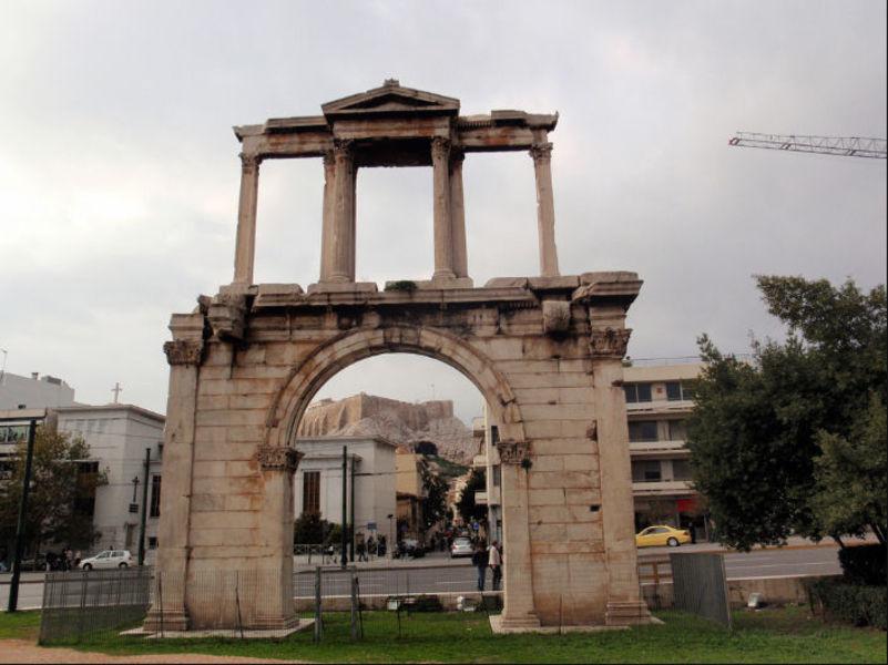 Афины - как много в этом слове для сердца архитектора сплелось.