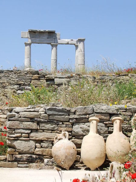 Древнегреческое сокровище Делос