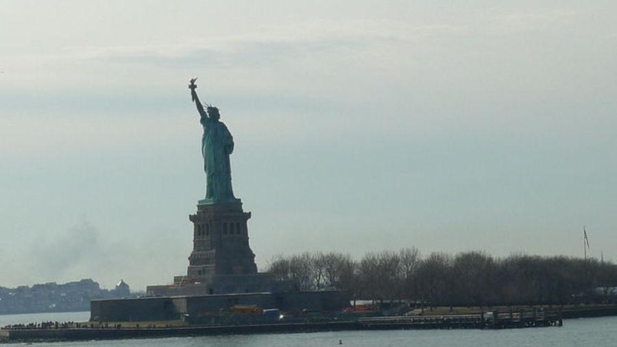 А он такой не только в кино, это настоящий Нью-Йорк!