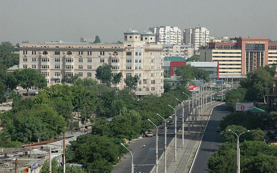 Ташкент - дивное место