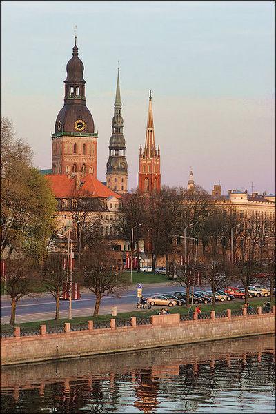 Рига-дом европейской архитектуры