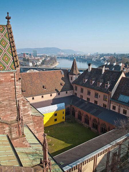 Базель - город в трех измерениях.