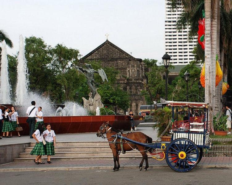 Веселый отдых в Маниле