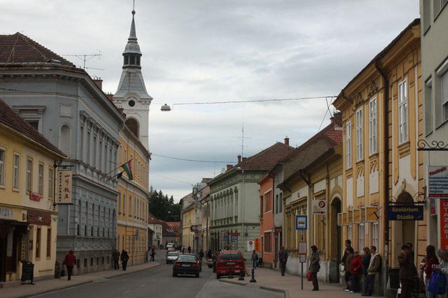 Барочный городок - Эгер