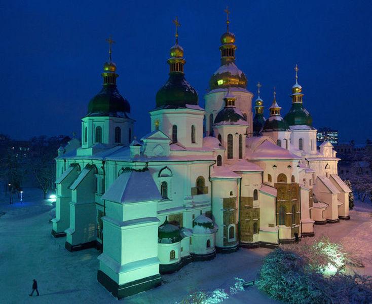 Незабываемая прогулка по Киеву.