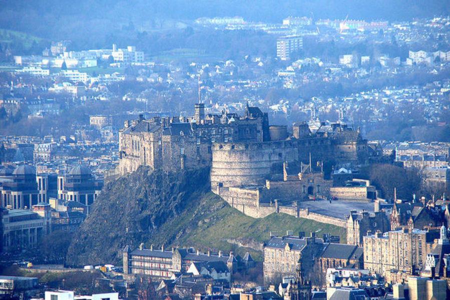 Эдинбург - культурный центр Шотландии