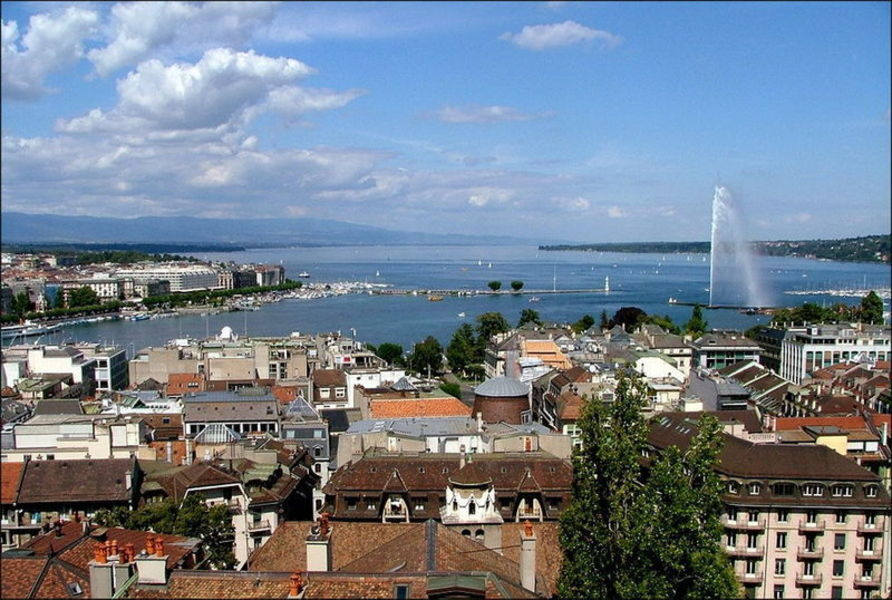 Много моей любимой Женевы и немного SPA в Лейкербад