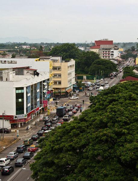 Оживленный Кота -Бару