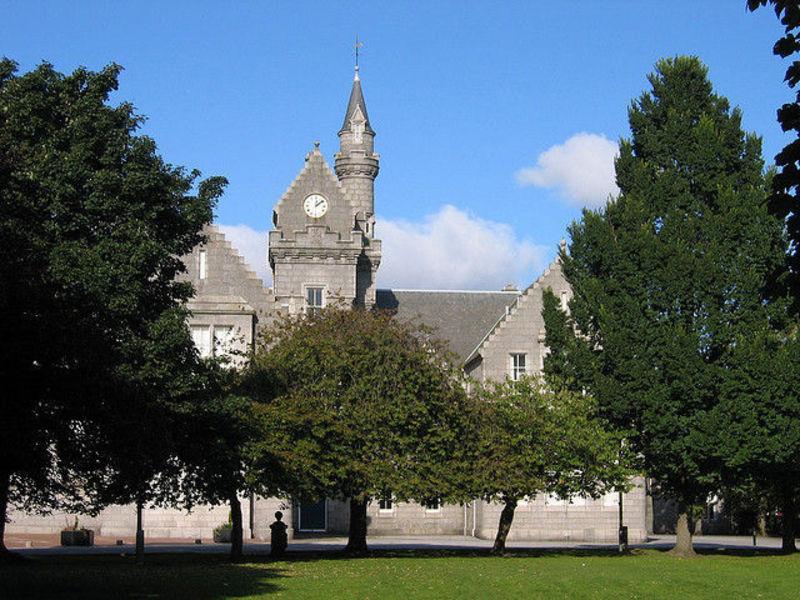 Абердин - торговый центр Шотландии
