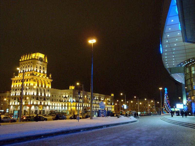 Минск - гордость Беларуссии