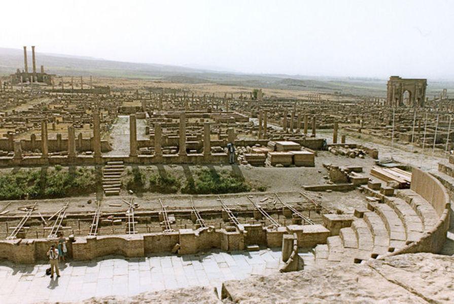 Батна и древнеримский город