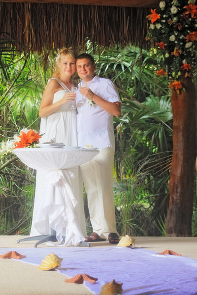 Свадьбы в Канкуне. Русский фотограф в Мексике