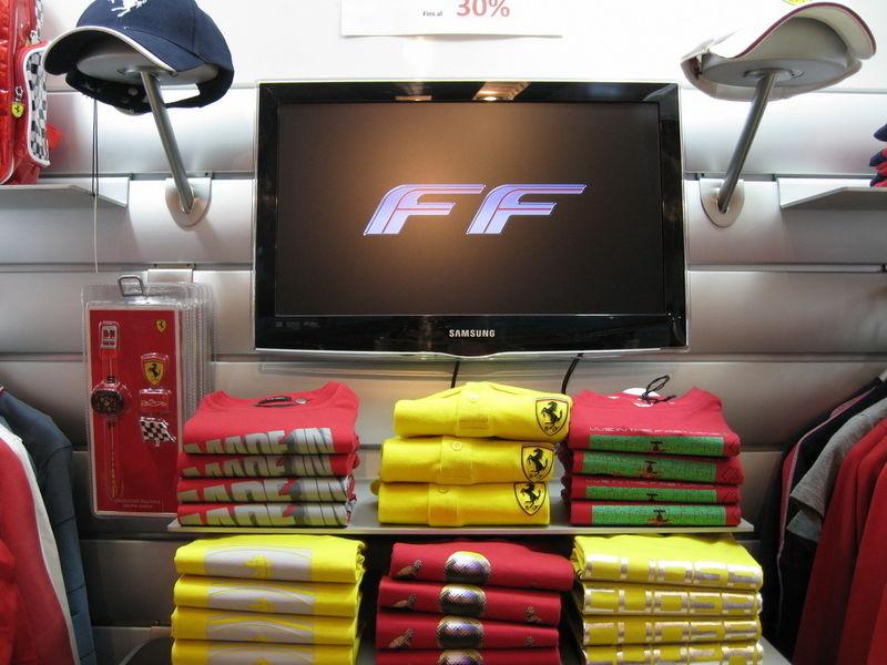 Фирменный магазин Ferrari в Андорре