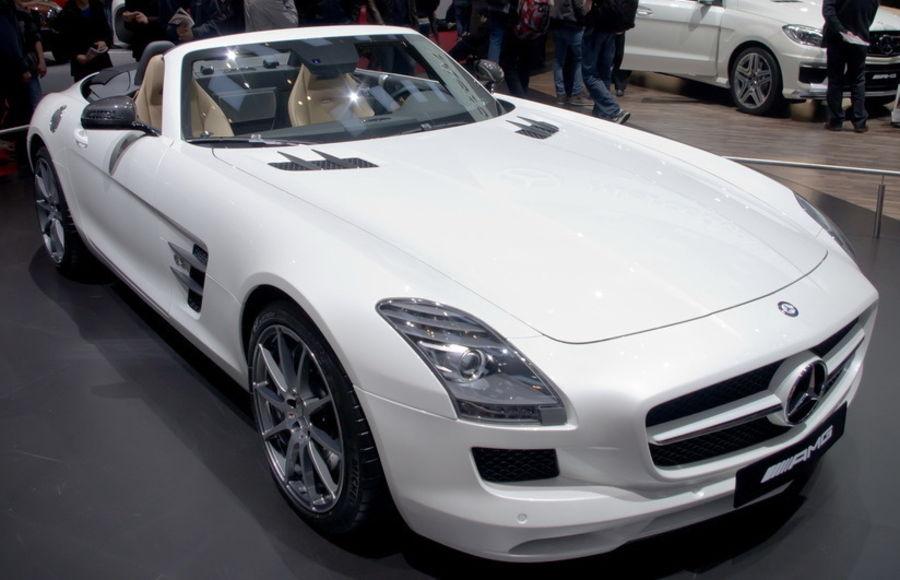 Красивые авто и красивые девушки - Автосалон Geneva 2012