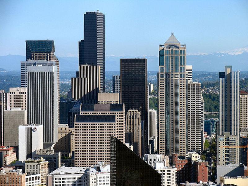 Американские приключения в Сиэтлe