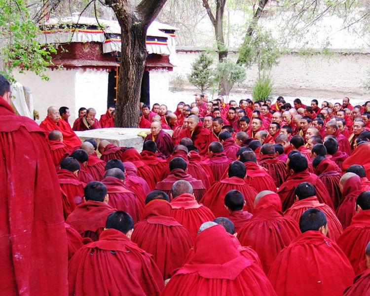Медитация в Лхасе