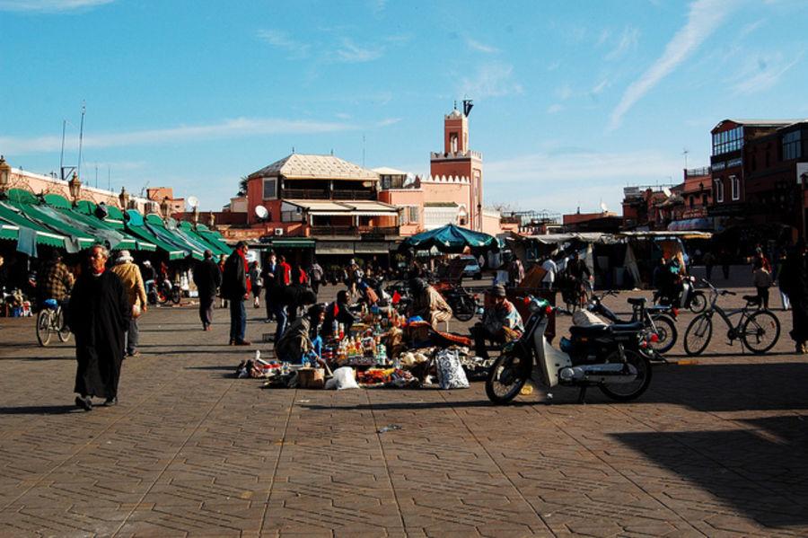 Несколько  удивительных дней в Марракеше