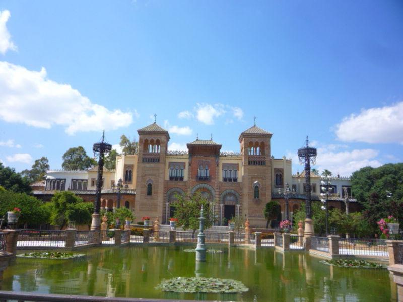 Архитектурная  Севилья