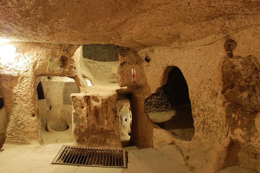 Подземный и полный загадок город Каймаклы
