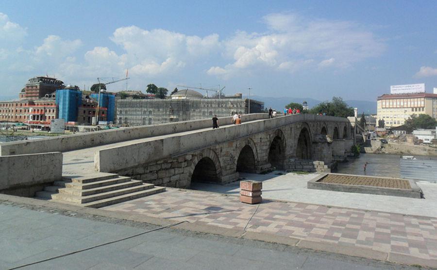 Великолепная архитектура Скопье