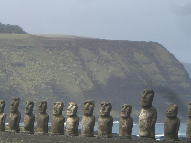 Остров Пасхи – насыщенность истории