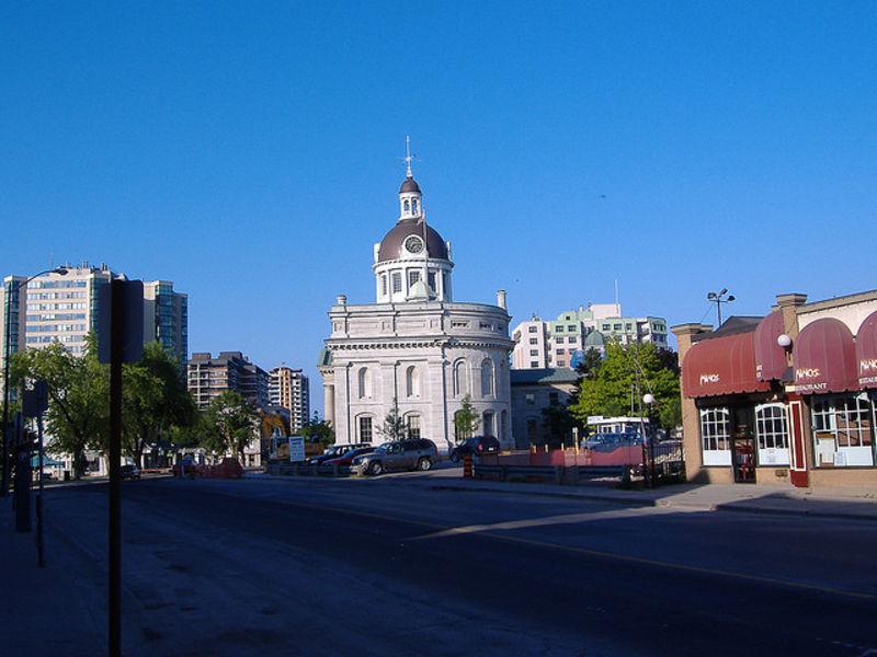 Красивый город Кингстон