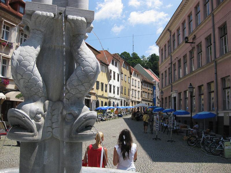 Насыщенный красками город Любляна