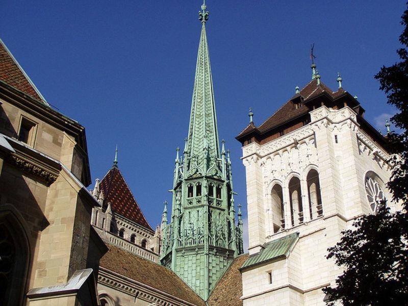 Красивый город Женева