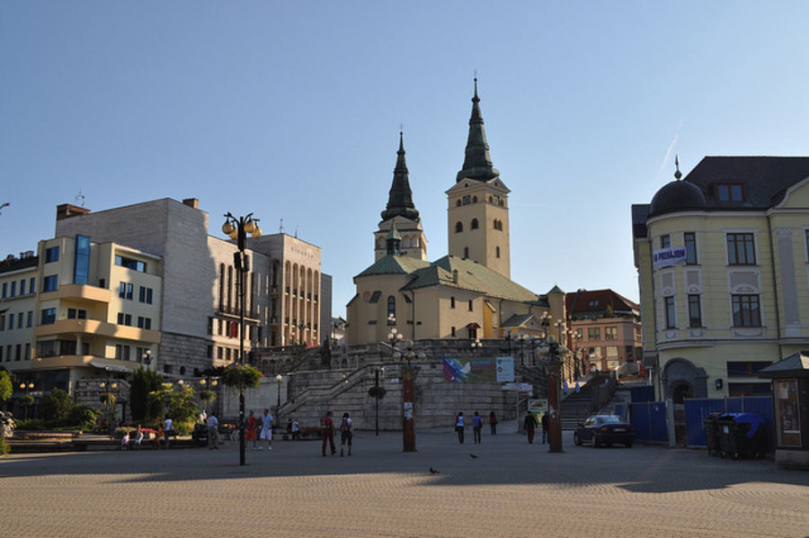 Спокойный город  Жилина
