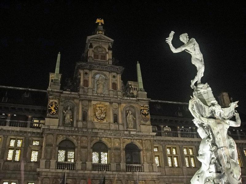 Антверпен и  его красоты