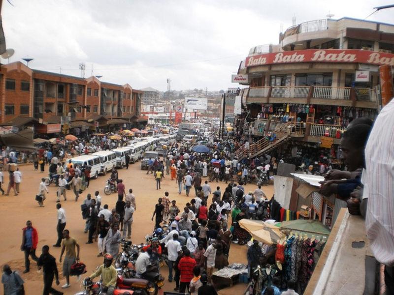 Меня удивил город Кампала