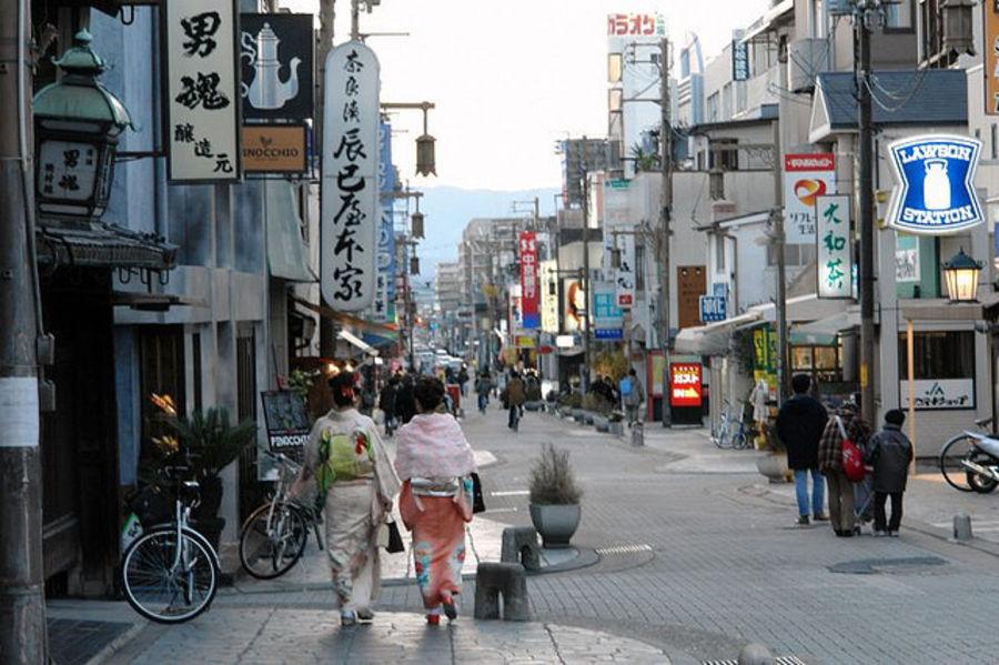 Чарующий город Нара